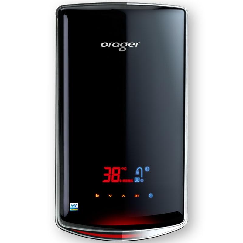 Istantanea senza serbatoio elettrico riscaldatore di acqua per il bagno doccia calda con temperatura costante e LED digital interfaccia utente
