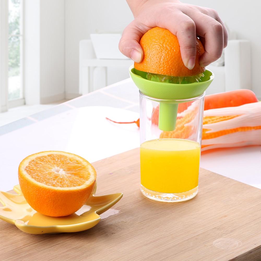 Handpresse Entsafter Werkzeug Haushalt Manuelle Entsafter Saftflasche Fruit S 5A