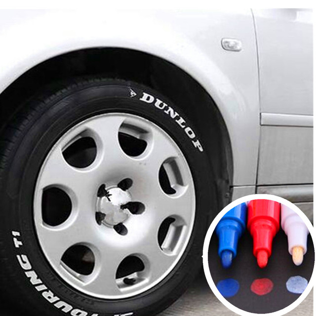 Car Universal White Car Tyre Tire Tread Marker for Mazda 2 Mazda...
