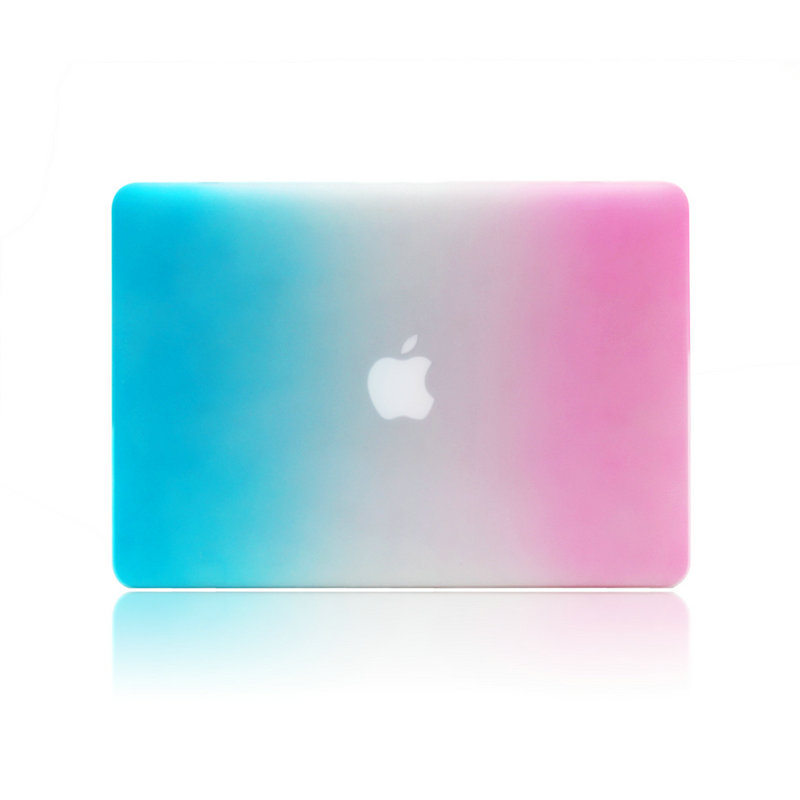 цена на Rainbow Protective Shell Flip Laptop Case For Macbook air 13 pro 13 retina 13 12 air 11 pro 15 notbook Hard Case without logo