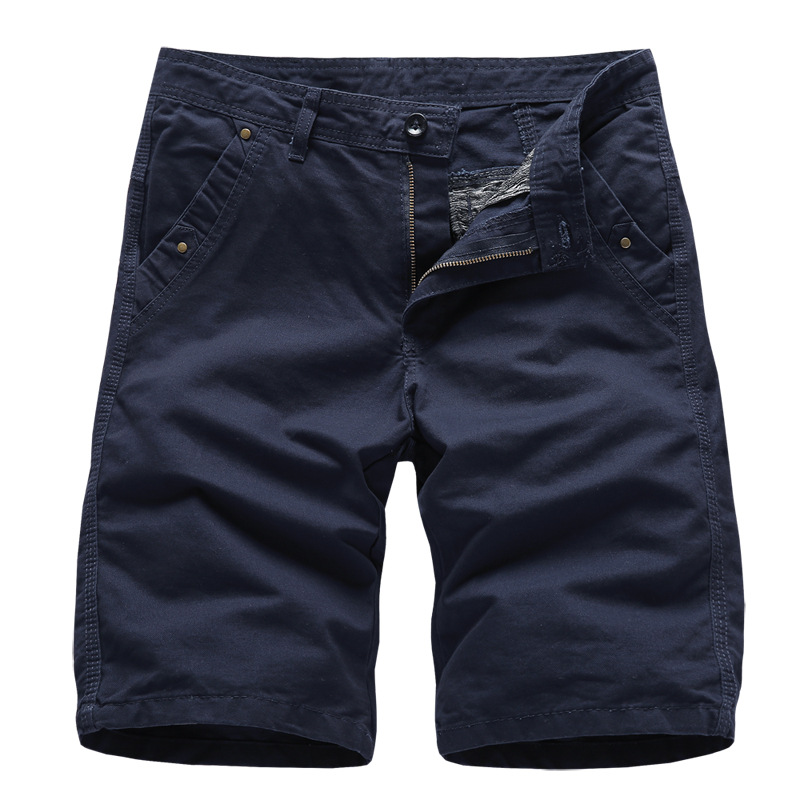 Dropshipping 2019 Modis Mens   Shorts   High Quality Military   Short   Pants Men 100% Cotton Solid Jogger Men Casual Beach   Shorts   Men