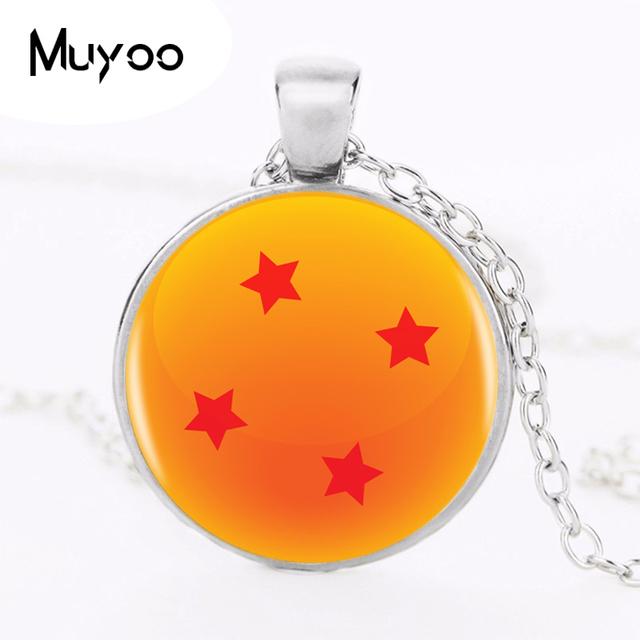 Dragon Ball Z 4 Star Logo Pendant Necklace