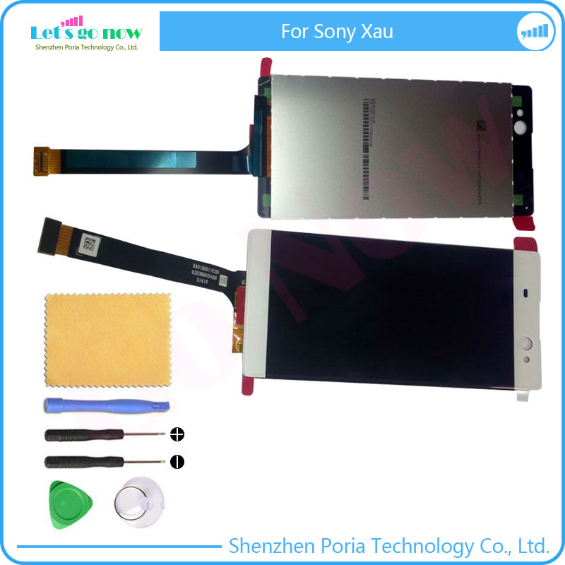ФОТО  High Quality For Sony Xperia Xau LCD Display Touch Screen With Digitizer Assembly Replacement+ Free Tools