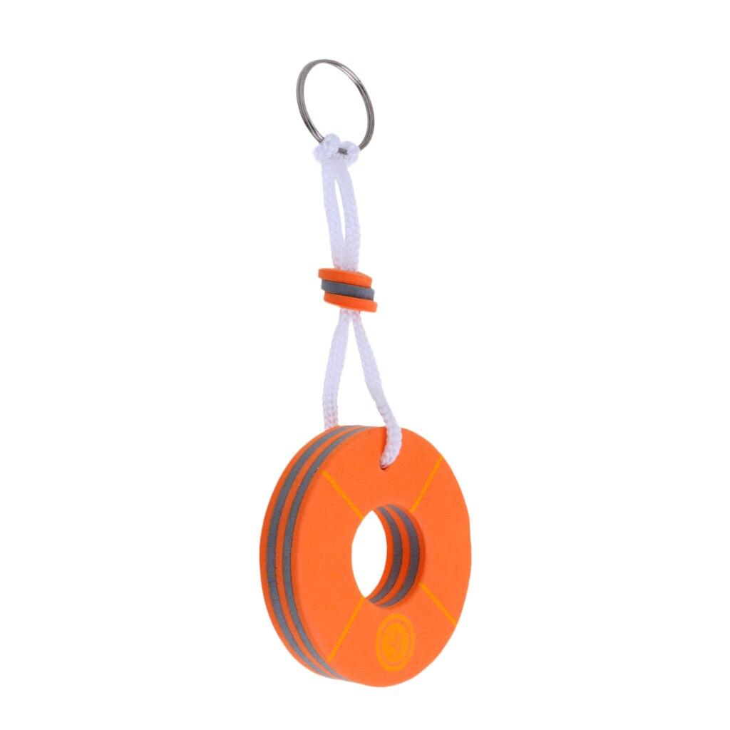 Bootfahren Meer Angeln Segeln Wasser Schwimm Charme Keychain Schlüssel Ring Sport Fan Schlüssel Ketten-boje Form Orange VerrüCkter Preis Rudern Boote Sport & Unterhaltung