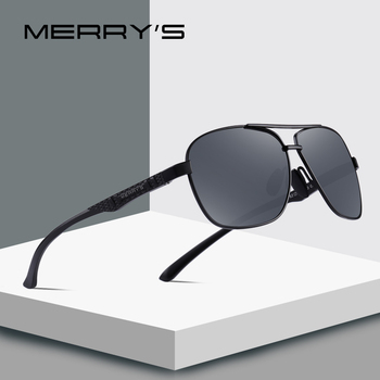 MERRYS DESIGN Men HD Polarized Sunglasses Aviation Alloy Frame HD Polarized Sunglasses For Men Driving UV400 Protection S8157