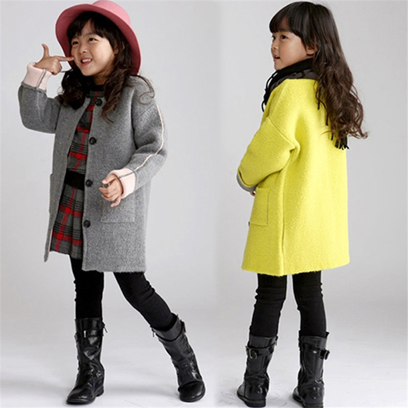 Popular Wool Coats for Girls-Buy Cheap Wool Coats for Girls lots