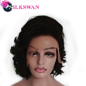 Strong Beauty Women Bob Wigs Synthetic Short Straight Cosply Wig For Women 10 inches(China)