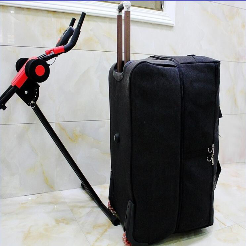 58092650f Travel tale 32 Inch 2018 new large weekend bag big trolley travel bag 2 wheels  luggage bag-in Rolling Luggage from Luggage & Bags on Aliexpress.com ...