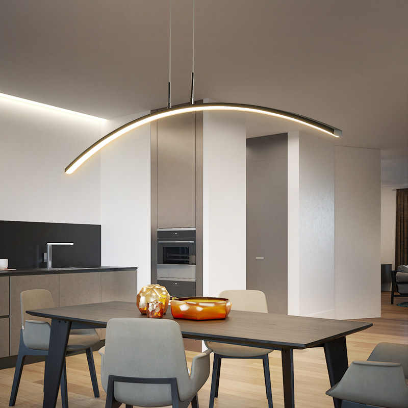 Светодиодный подвесной светильник для столовой и кухни Новое поступление современный подвесной светильник