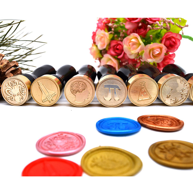 Dna Sealing Wax Stamp For Special Envelope Letter Decoration Diy Craft Seal With Clic
