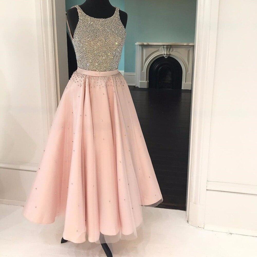Popular Pink Sparkly Cheap Dress