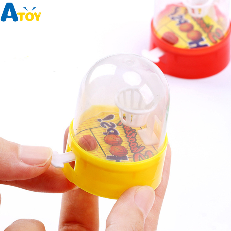 Developmental Basketball Machine Player Handheld Shooting Children Toys Funny Gadgets Novelty Toys Birthday Gift Anti Stress
