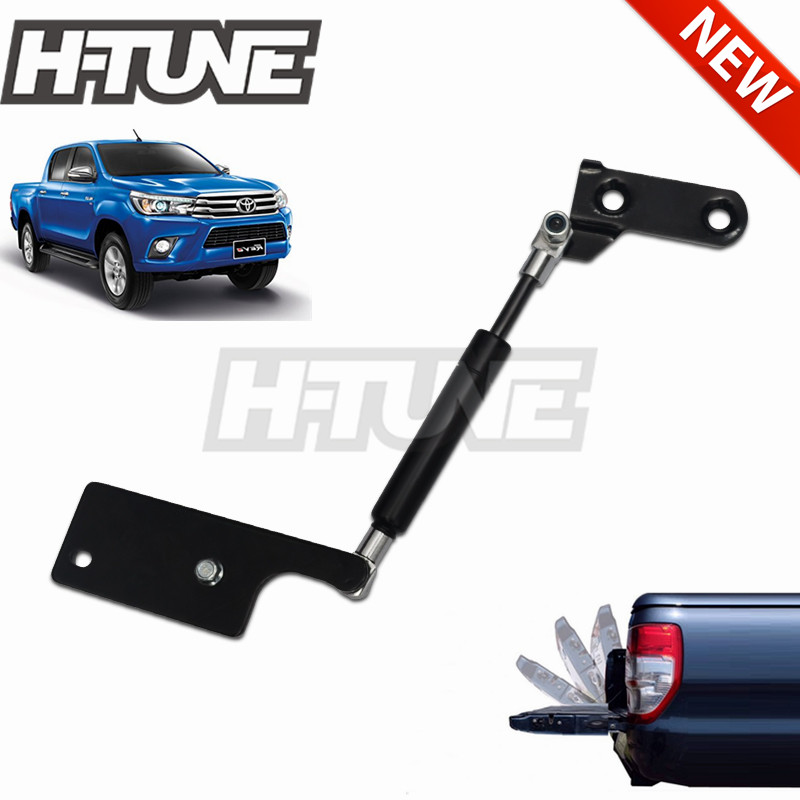 H TUNE 4x4 Accessories Rear Tailgate Damper Slow Down Gas Struts for Hilux REVO 2015++