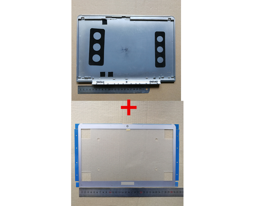 New Laptop Top Case Lcd Back Cover+lcd Front Bezel Cover Screen For SAMSUNG 530U3C 530U3B 535U3B NP530U3C NP530U3B NP535U3C(China)
