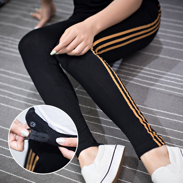2016 New spring/summer High Waist Maternity Pants Abdominal Casual fashion thin belly trousers pregnant women clothes sport wear
