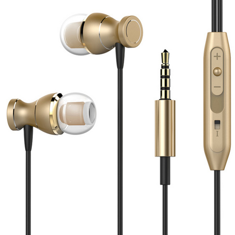 Metal Earphone Magnetic Sport Running Headphone for Assistant AS-503 Target fone de ouvido