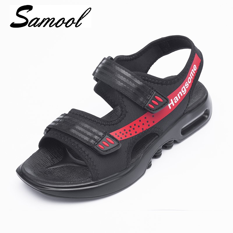 Hot Sale Hook New Fashion Summer Leisure Beach Men Shoes High Quality Leather Sandals Breathable Mens Sandals Size 39-44 Gx3