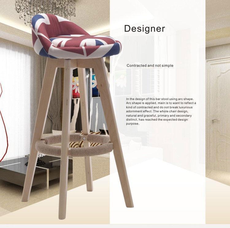Cheap Furniture Stores Online Free Shipping: Cafe Chair Bar Stool Furniture Shop Wood Leg Chair Retail