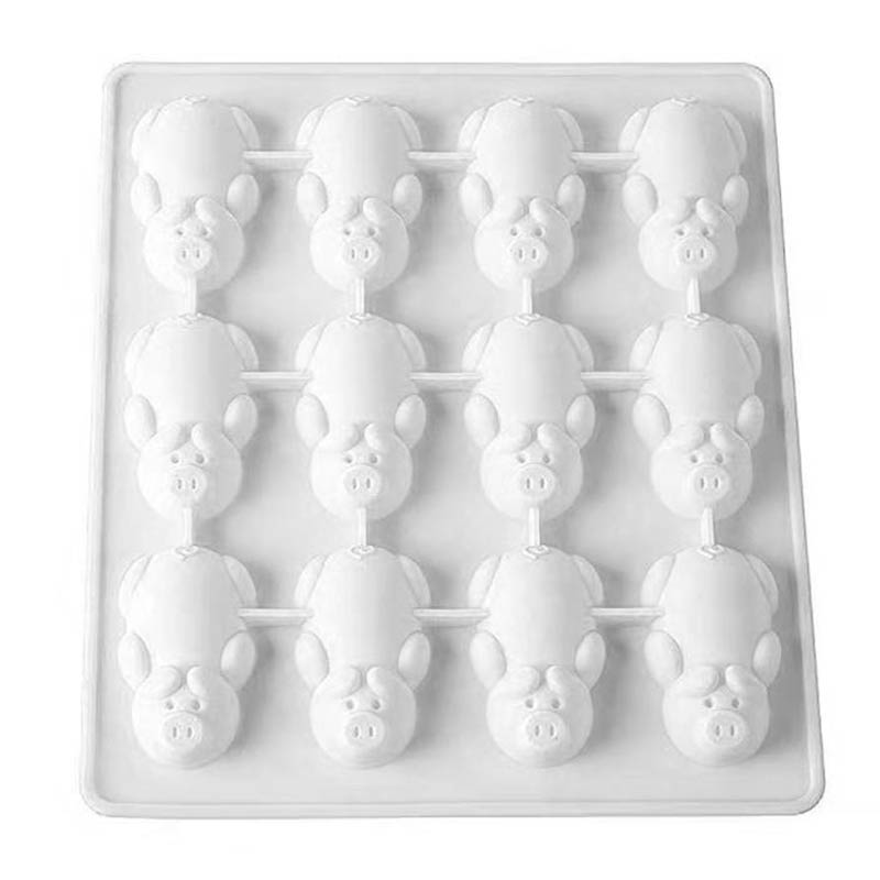 Silicone Cute Piggy Shaped Chocolate Cake Mold DIY Handmade Cookies Bread Molds Hot Sale in Bakeware Sets from Home Garden