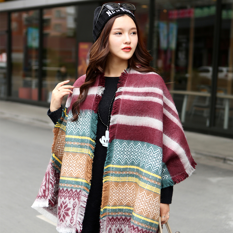 Women Scarf Wrap Very large Shawl stitching lace scarf fashion woman Scarf