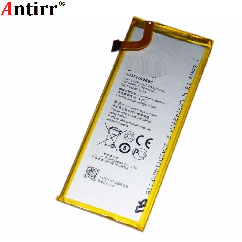 Antirr New Tested Battery For Huawei Ascend P6 P6S P6 U06 P6