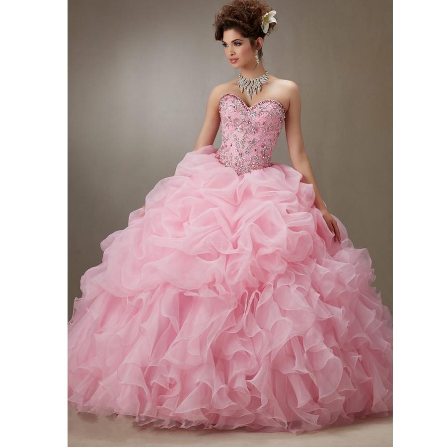 Aliexpress.com : Buy Vestidos De 15 Anos Ball Gown Sweetheart ...