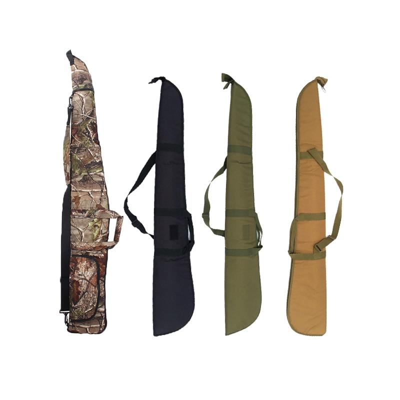 Hunting Shooting Gun Bag Outdoor Airsoft Rifle Gun Carry Bag Shoulder Shot Pouch 600D Oxford Gun Protection Case 130cm 135cm