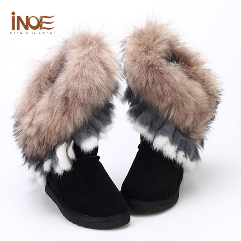 Womens Furry Boots Promotion-Shop for Promotional Womens Furry ...