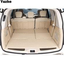 Yuzhe Custom car trunk mat For nissan patrol y62 2014 2016 Cargo Liner Interior Accessories Carpet car styling