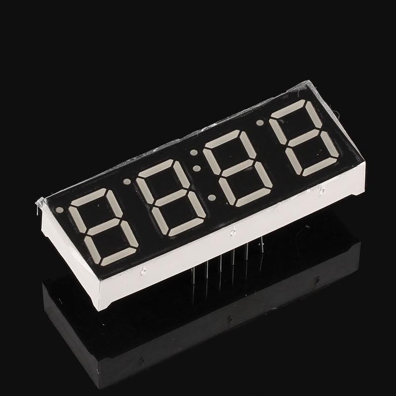 5pcs 7 Segment Clock Display Digital Segmentos 0.56inch 4 Digit 7-segment RED LED Display Common Anode Cathode 0.56 Time Display