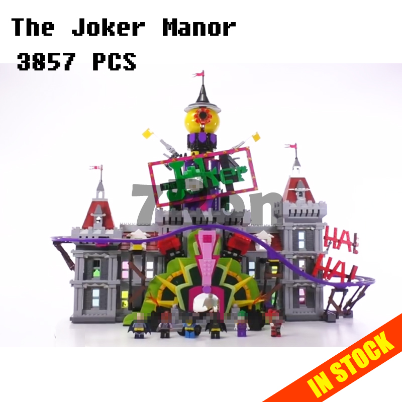 Models building toy 07090 Marvel Batman The Joker Manor Building Blocks Compatible with lego super heroes 70922 toys & hobbie building blocks brinquedos model set figures toys batman super heroes movie joker s car compatible with lego