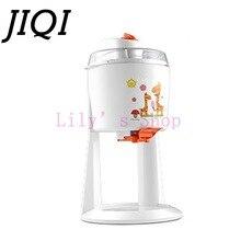 Бытовая автоматическая фрукты электрическая машина мороженого DIY мороженое конусов производитель портативных мягкое мороженое чайник детей ЕС США plug