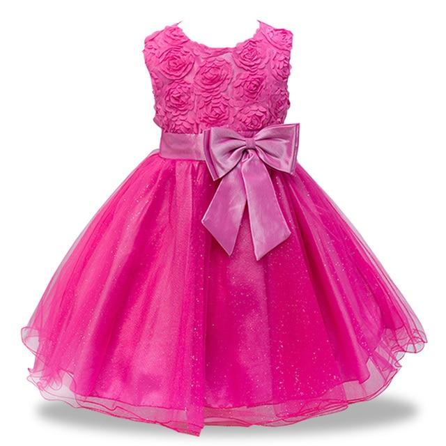 2018 летние платья для девочек детские для маленьких детей Одежда для девочек принцессы с большим бантом платье для девочек Vestidos infantis