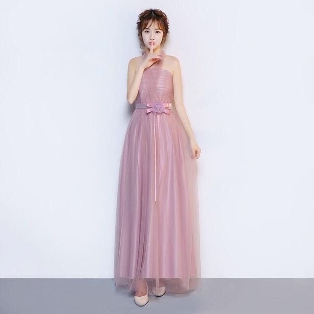 Long Elegant Conversible Chiffon Wedding Party Prom Dresses Vestidos ...
