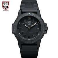 Luminox שעון גברים צבאי גברים שעון עור ספורט קוורץ שעון Mens שעונים למעלה מותג יוקרה עמיד למים Relogio Masculino 2019 new MadeinSwitzerland XS.0329