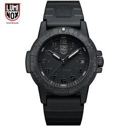 Luminox watch męskie zegarki top marka luksusowe Wojskowy Sport Data Analog Quartz Wrist Watch Wodoodporny Zegarek na rękę Chronograph Made in Switzerland Zegarek na rękę mężczyzna XS.0329 2019 new w Zegarki kwarcowe od Zegarki na
