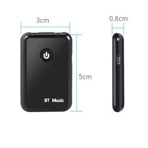 Image 5 - Kebidumei 2 w 1 bezprzewodowy Bluetooth V4.2 nadajnik odbiornik 3.5mm muzyka stereo Audio adapter do tv słuchawki głośnik