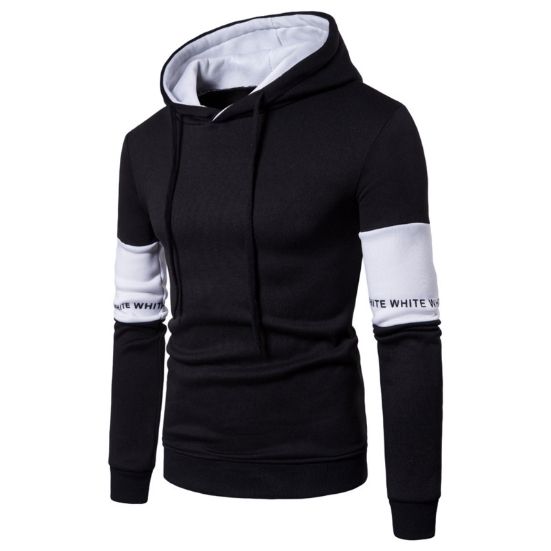 pullover hoodie sweatshirt Men men's Casual Hooded sweatshirts hoodies for Fashion Long Sleeve