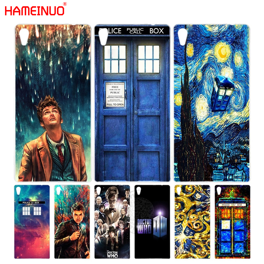 Hameinuo Doctor Who Cover Phone Case For Sony Xperia Z2 Z3 Z4 Z5 Mini Plus Aqua M4 M5 E4 E5 C4 C5 Good Companions For Children As Well As Adults Half-wrapped Case