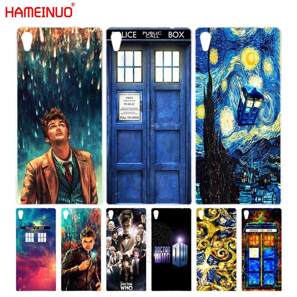 HAMEINUO Doctor Who Cover phone Case for sony xperia z2 z3 z4 z5 mini plus aqua M4 M5 E4 E5 C4 C5