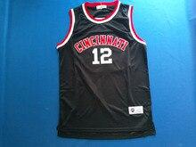 Dueweer Cincinnati Bearcats  12 Oscar Robertson Jersey College Basketball  Jerseys Vintage Stitched Black(China 95a322038