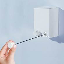Invisible Tendedero Ropa Wall Hanger Retractable Indoor Clothes Magic Drying Rack/Retractable Clothesline clothes dryer