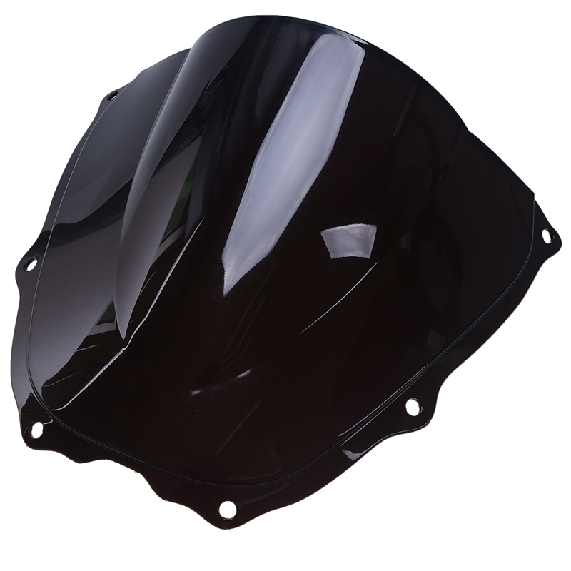 New Smoke Double Bubble Motorcycle Wind Deflector Windshield Windscreen For Honda VTR 1000 2000-2006 Motorbike Accessories