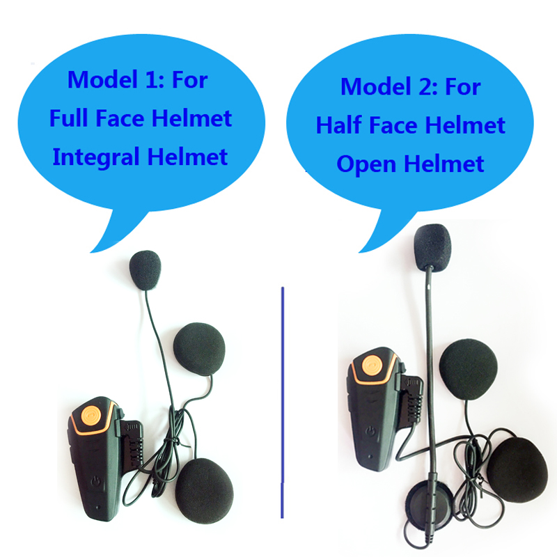 Image 2 - Waterproof BT S2 Multi BT Interphone 1000M Motorcycle Bluetooth Helmet Intercom Intercomunicador Moto Interfones Headset FM MP3-in Helmet Headsets from Automobiles & Motorcycles