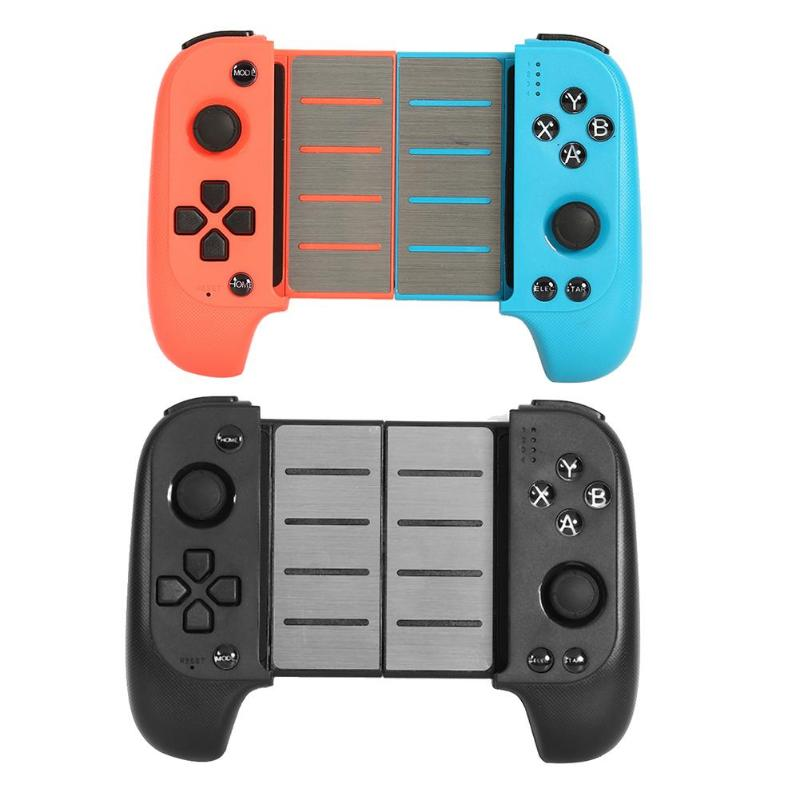 7007F Mobile Game Telescopic Wireless Bluetooth Gamepad Controller Game Console Joystick for PUBG Gaming Accessories