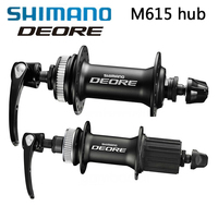 Shimano DEORE M615 32H Bike hub MTB Mountain Bicycle Disc Brake Parts Center Lock Hubs Front & Rear hubs & QR Quick Release HOT
