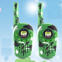 Children's walkie-talkie children toy walkie-talkies spoke on a pair of watches intercom parent-child interaction