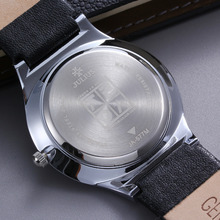 Luxury Brand Ultra Thin Full Genuine Leather Clock Male Waterproof Casual Sport