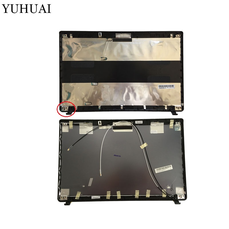 Laptop shell For ASUS K55 K55V K55VD A55V K55A U57A Top LCD Back Cover black/gray A Case k55a motherboard rev 3 0 3 1 hm76 for asus a55v k55v k55vd laptop motherboard k55a mainboard k55a motherboard test 100% ok