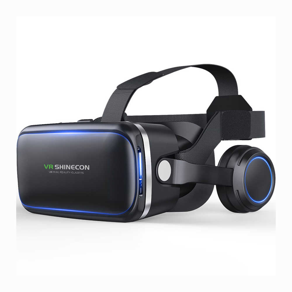 e6fcdc70147c Original VR shinecon 6.0 Standard edition and headset version virtual  reality glasses 3D glasses headset helmets